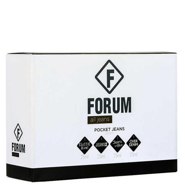 Forum Conjunto All Jeans Pocket Deo Colônia Kit (4 Produtos)