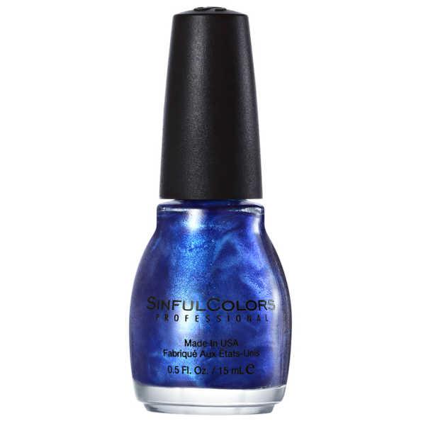 SinfulColors Professional Midnight Blue 105 - Esmalte 15ml