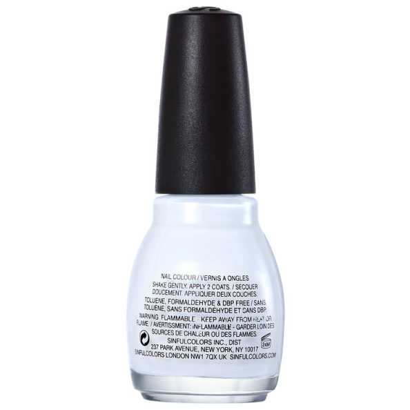 SinfulColors Professional Snow Me White 101 - Esmalte 15ml