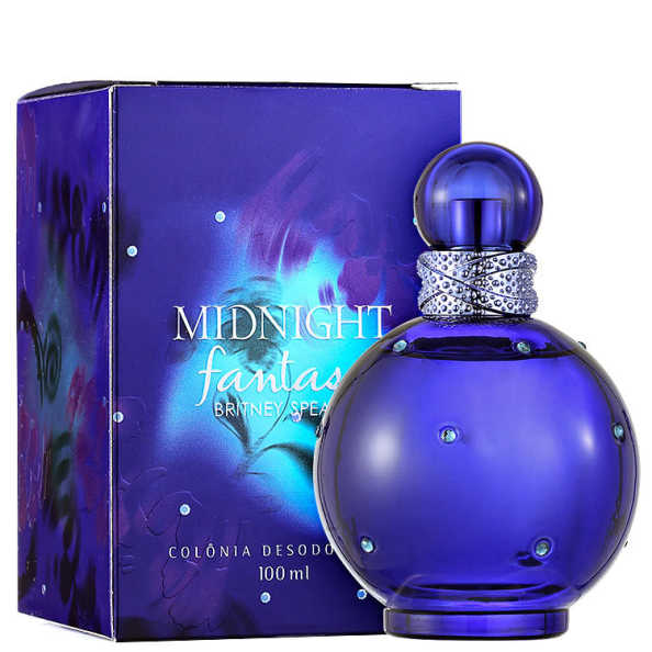 Britney Spears Perfume Feminino Midnight Fantasy - Colônia 100ml