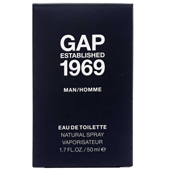 Gap Perfume Masculino Established 1969 Man - Eau de Toilette 50ml