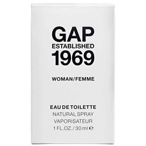 Gap Perfume Feminino Established 1969 Woman - Eau de Toilette 30ml