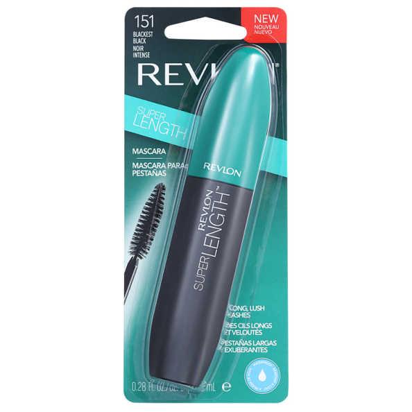 Revlon Super Lengh Waterproof Blackest Black - Máscara de Cílios 8,5ml
