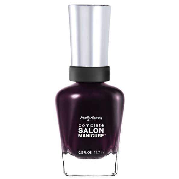 Sally Hansen Complete Salon Manicure 441 Pat on the Black - Esmalte 14,7ml