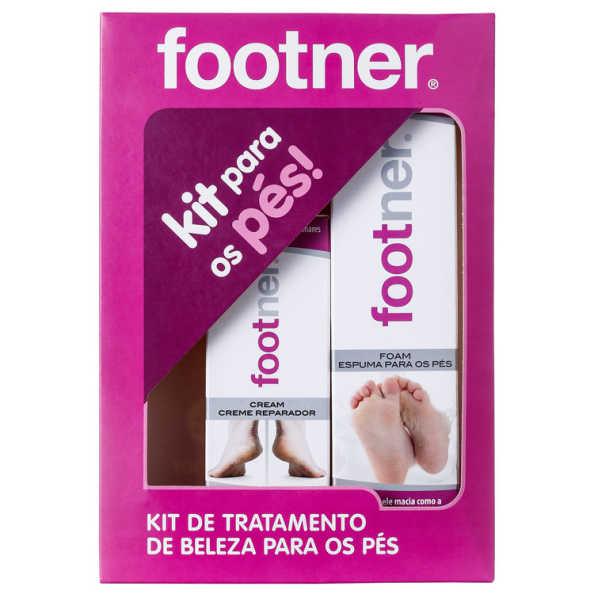 Footner Pés Macios Kit (2 Produtos)