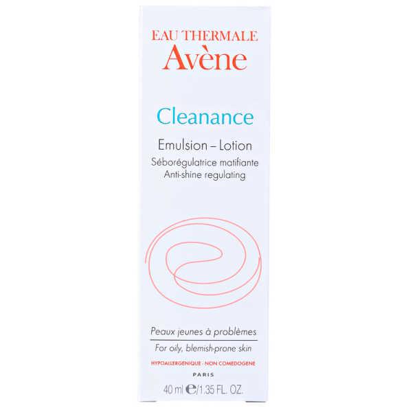 Avène Cleanance Emulsion Lotion - Hidratante Facial 40ml