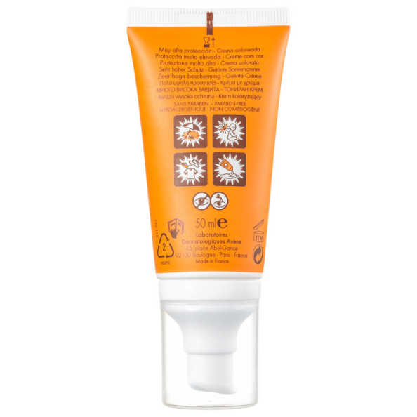 Avène Color Toque Seco FPS 50 - Protetor Solar Facial 50ml