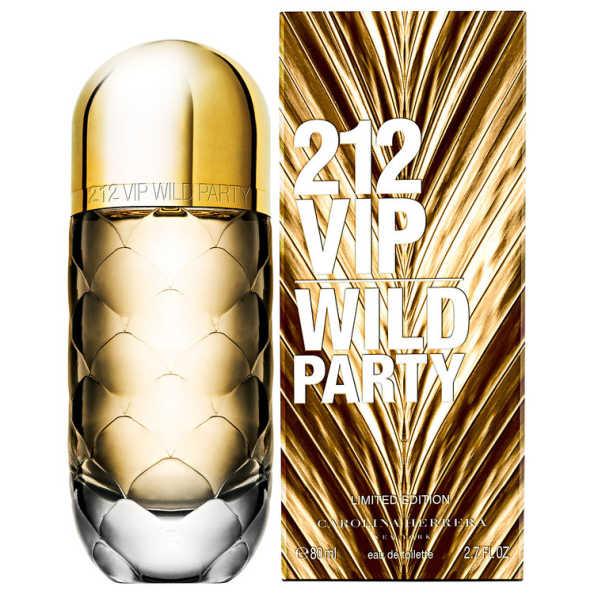 Carolina Herrera Perfume Feminino 212 VIP Wild Party - Eau de Toilette 80ml
