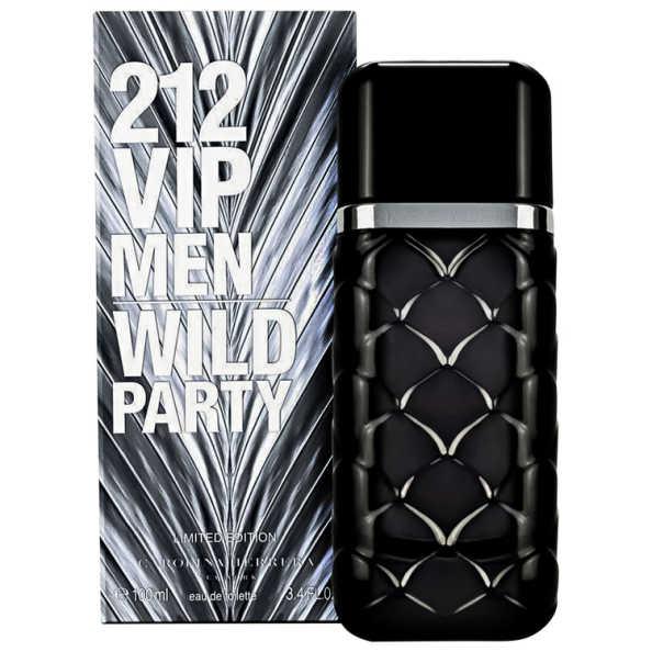 Carolina Herrera Perfume Masculino 212 VIP Men Wild Party - Eau de Toilette 100ml