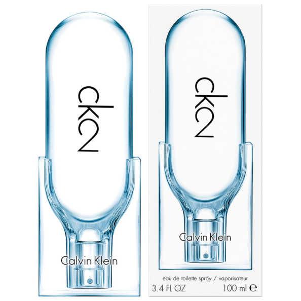 Calvin Klein CK2 Perfume Unissex - Eau de Toilette 100ml