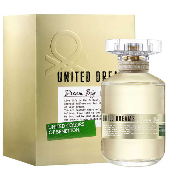 Dream big benetton perfume feminino beleza na web for Benetton dream big
