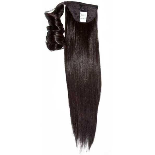 Hairdo Rabo de Cavalo Liso - Castanho Super Escuro 46Cm