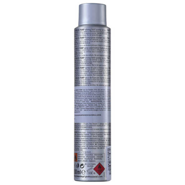 Schwarzkopf OSIS+ Freeze Pump - Spray Fixador 200ml