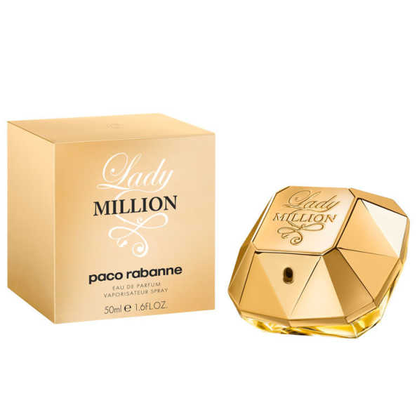 Paco Rabanne Lady Million Perfume Feminino - Eau de Parfum 50ml