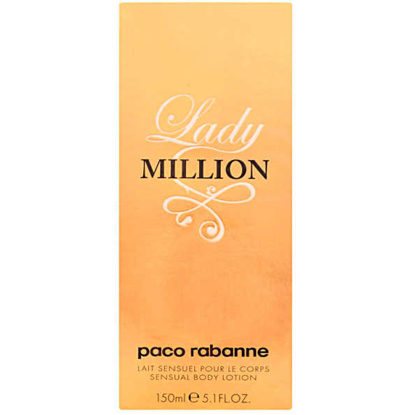 Paco Rabanne Lady Million Body Lotion - Loção Corporal 150ml