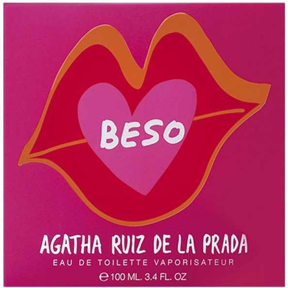Agatha Ruiz de La Prada Perfume Feminino Beso de Agatha - Eau de Toilette 100ml