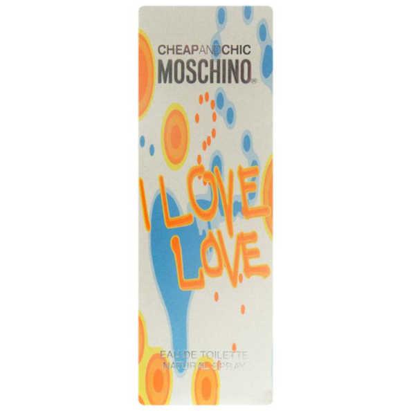 Moschino Cheap & Chic I Love Love - Eau de Toilette 30ml