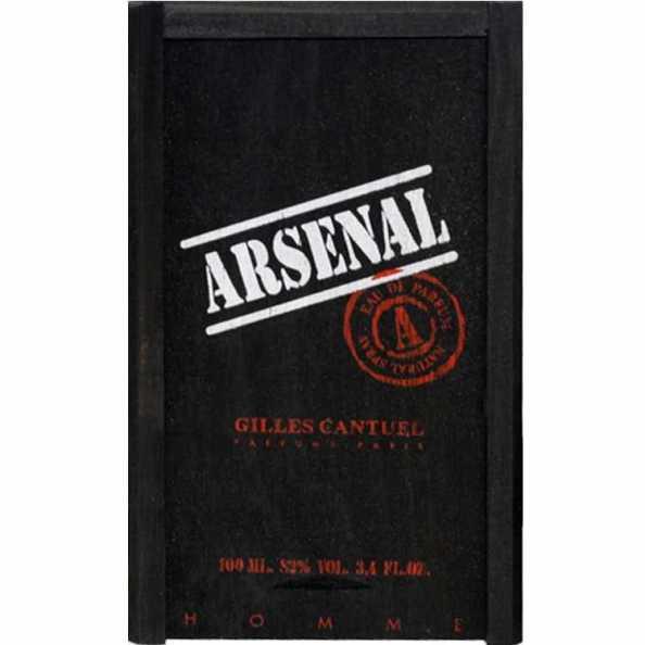 Gilles Cantuel Arsenal Black Homme - Eau de Parfum 100ml