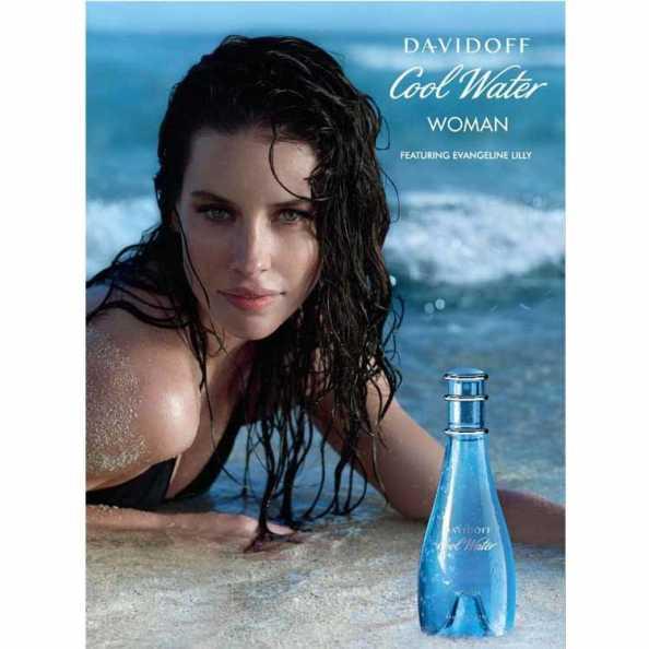 Davidoff Perfume Feminino Cool Water Woman - Eau de Toilette 50ml