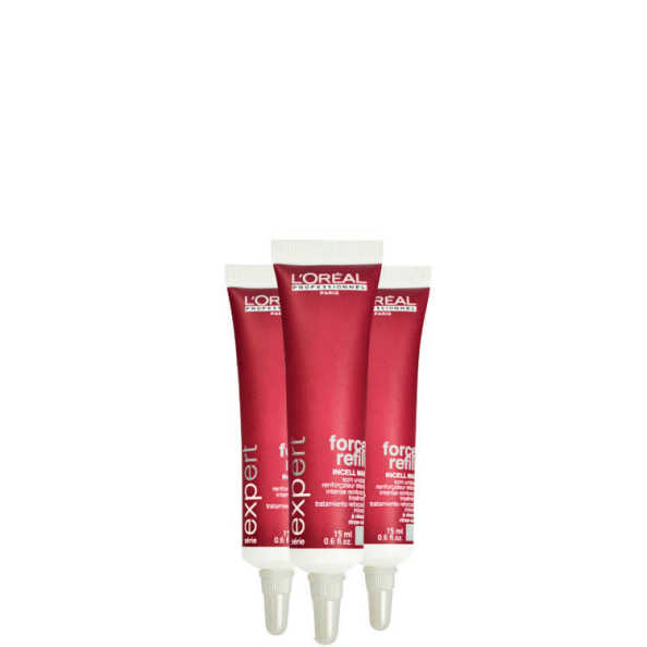 L'Oréal Professionnel Force Vector Force Refill - Tratamento 3x15ml
