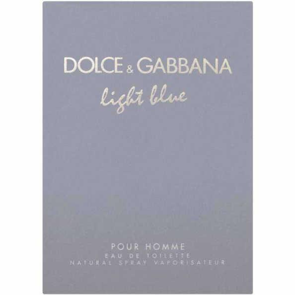 Dolce & Gabbana Light Blue Pour Homme - Eau de Toilette 40ml