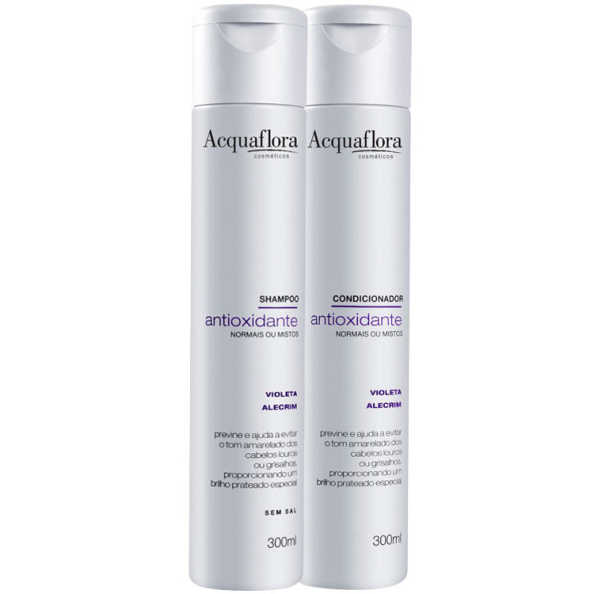 Acquaflora Antioxidante Normais ou Mistos Duo Kit (2 Produtos)