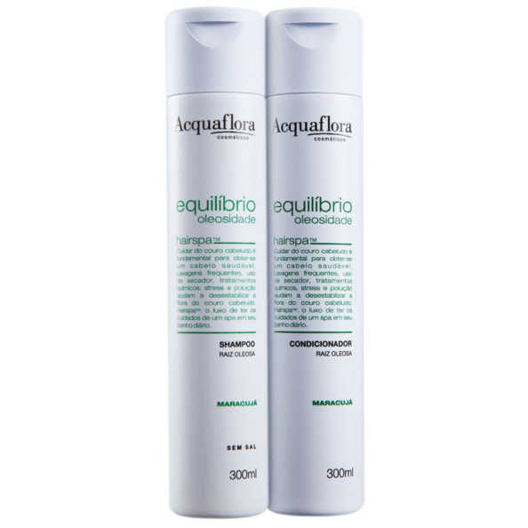 Acquaflora Equilíbrio Oleosidade Raiz Oleosa Duo Kit (2 Produtos)