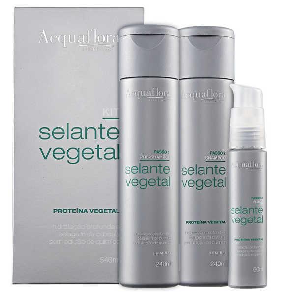 Acquaflora Selante Vegetal Kit (3 Produtos)