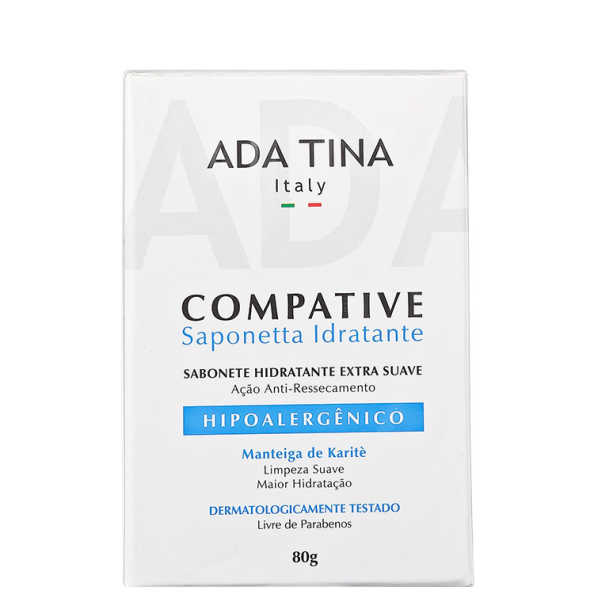 Ada Tina Compative Saponetta Idratante - Sabonete Facial 80g