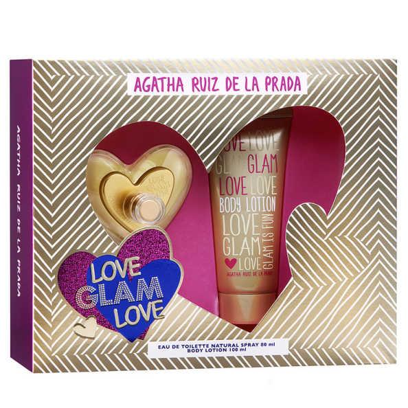 Agatha Ruiz de La Prada Conjunto Feminino Love Glam Love - Eau de Toilette 80ml + Loção 100ml