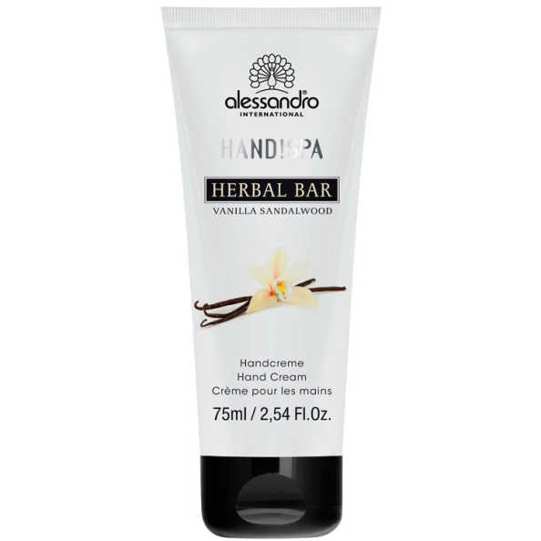 Alessandro Flower Bar Hand Cream Vanilla Sandalwood - Creme para Mãos 75ml