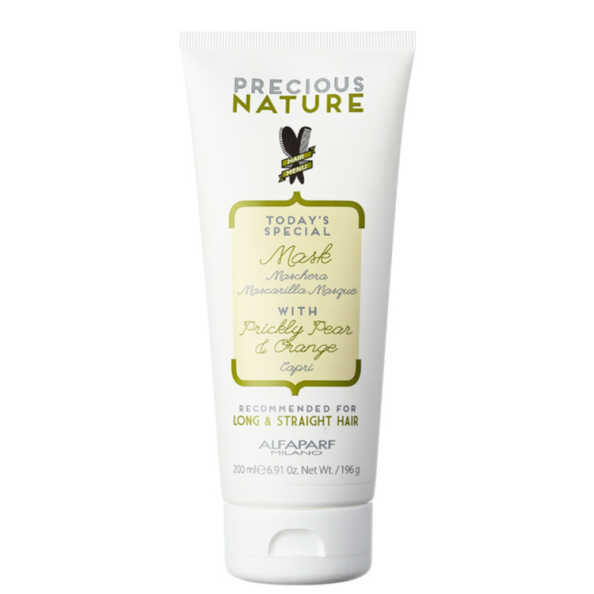 Alfaparf Precious Nature Prickly Pear & Orange Mask - Máscara de Tratamento 200ml