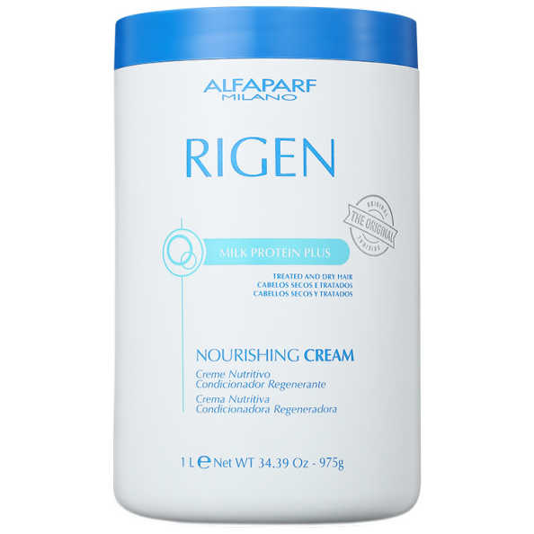 Alfaparf Rigen Milk Protein Plus Nourishing Cream - Máscara de Tratamento 1000ml