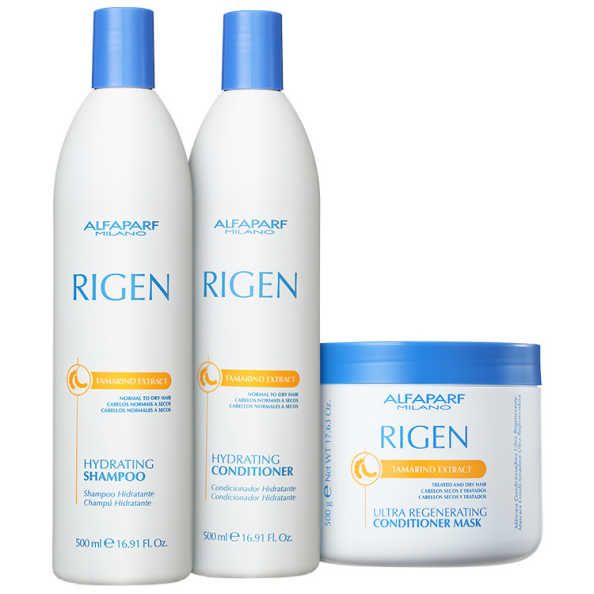 Alfaparf Rigen Tamarind Extract Ultra Regenerating Triplo Kit (3 Produtos)