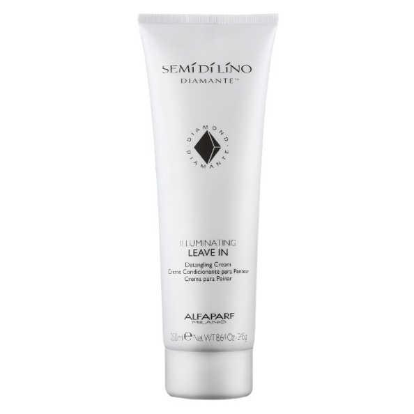 Alfaparf Semi di Lino Diamante Illuminating Leave-In Detangling Cream - Creme para Pentear 250ml