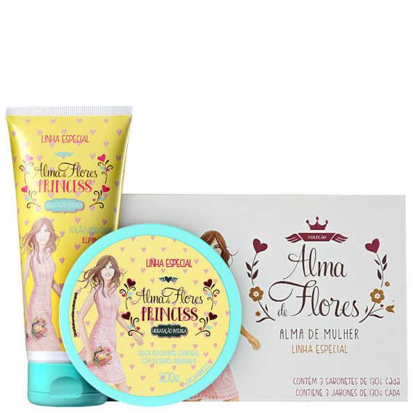 Alma de Flores Princess Trio Kit (3 Produtos)
