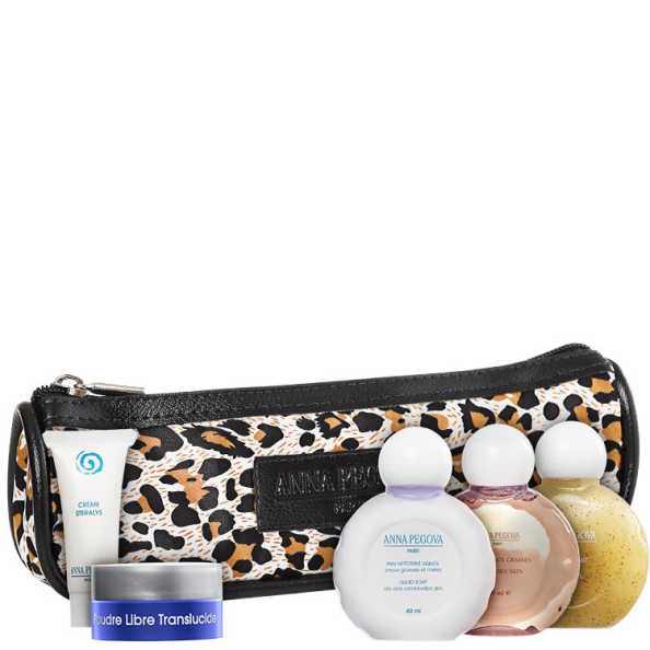 Anna Pegova Essencial Animal Print Kit (5 Produtos + Nécessaire)