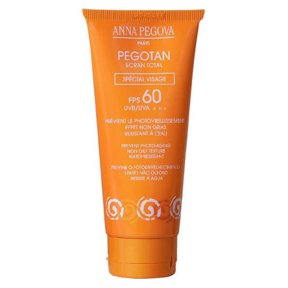 Anna Pegova Pegotan Ecran Total Spécial Visage Fps 60 Uvb/Uva +++ - Protetor Solar 50ml