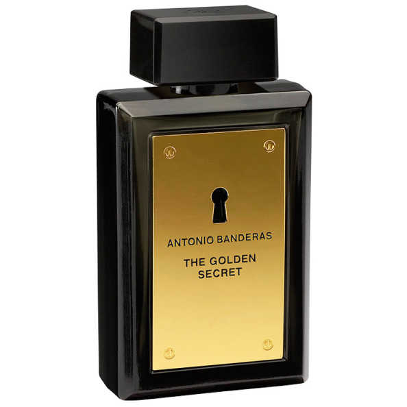 The Golden Secret Antonio Banderas Eau de Toilette - Perfume Masculino 100ml