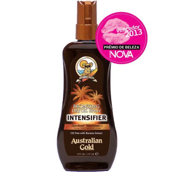 Australian Gold Bronzing Dry Oil Spray Intensifier - Acelerador Bronzeador 237ml