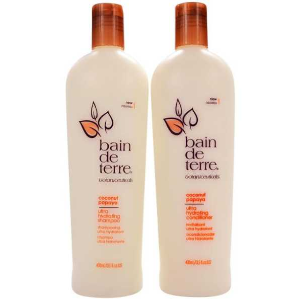 Bain de Terre Coconut Papaya Duo Kit (2 Produtos)