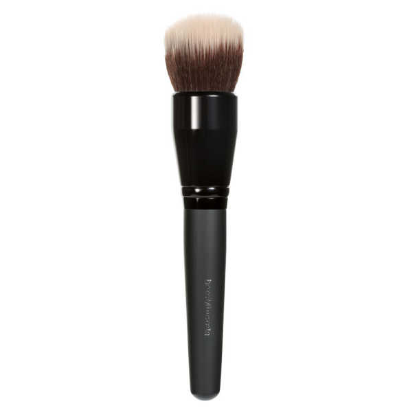 bareMinerals Smoothing Face Brush - Pincel Duo Fiber