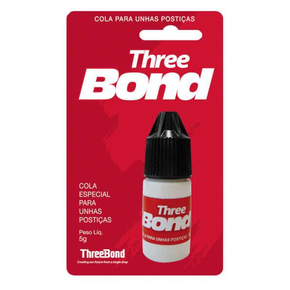 Belliz Three Bond - Cola para Unhas Postiças 5g