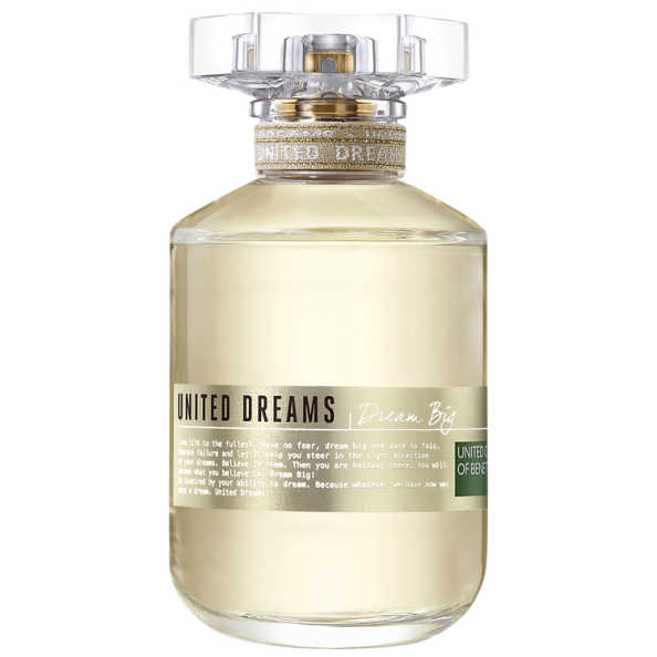 Benetton dream big perfume feminino edt beleza na web for Benetton dream big