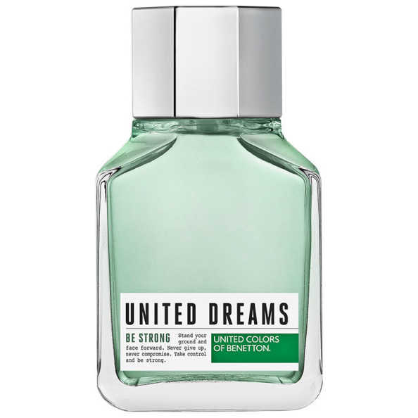 United Dreams Be Strong Benetton Eau de Toilette - Perfume Masculino 100ml