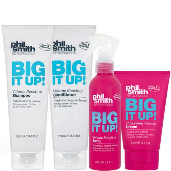 Phil Smith Big It Up Volume Boosting Kit de Tratamento (4 Produtos)