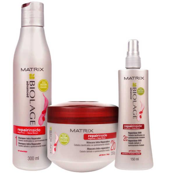 Matrix Biolage Repairinside Intense Kit (3 Produtos)