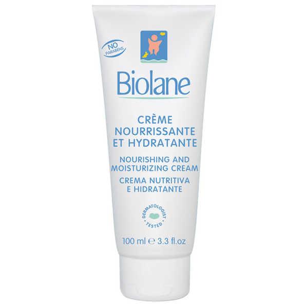 Biolane Crème Nourrissante Et Hydratante - Creme Hidratante 100ml