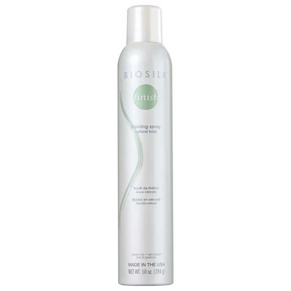 Biosilk Finishing Spray Natural Hold - Spray de Fixação Natural 284g