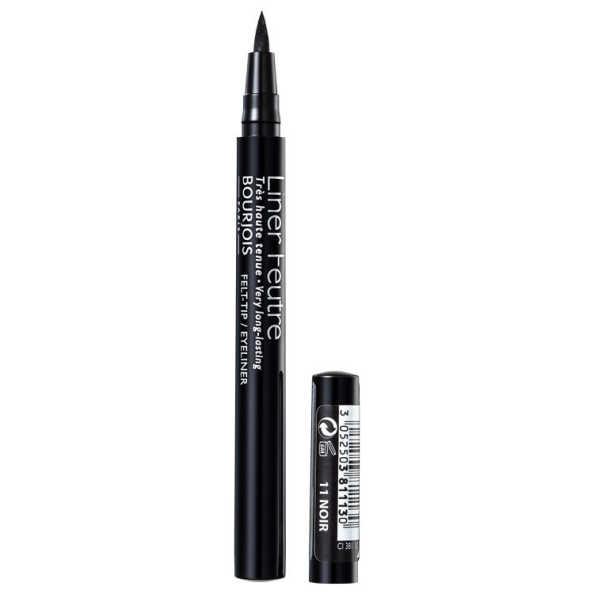 Bourjois liner feutre noir caneta delineadora 4g for Liner noir